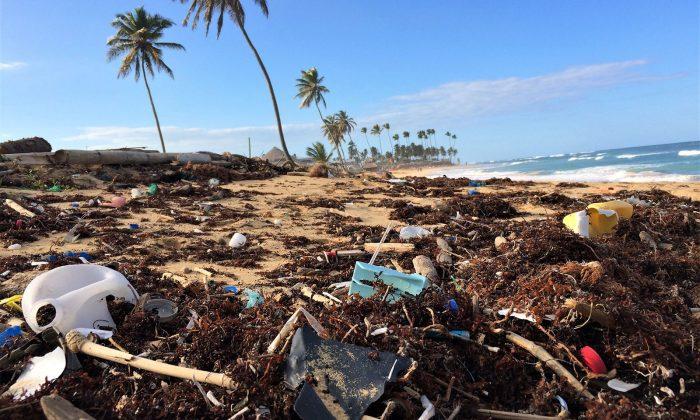 Odpad-na-pláži