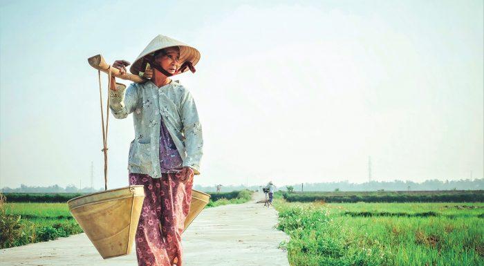 Vietnamská farmárka