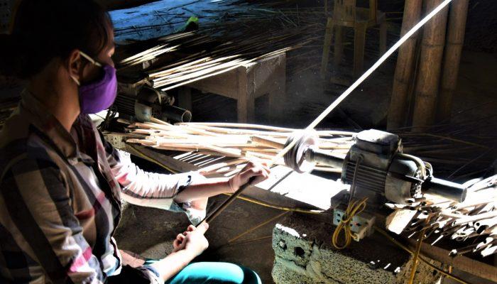 opracovanie bambusu