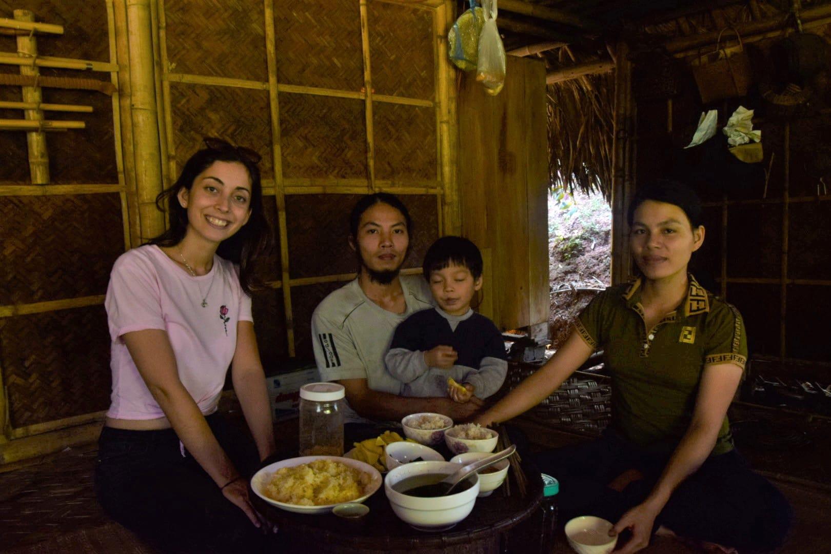 vietnamská bambusová rodina