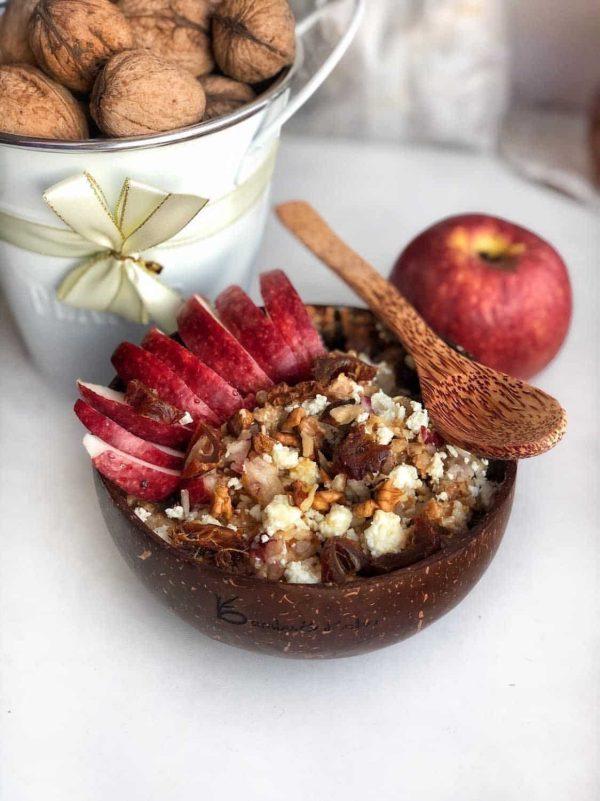 Kokosová miska - recept s jablkami