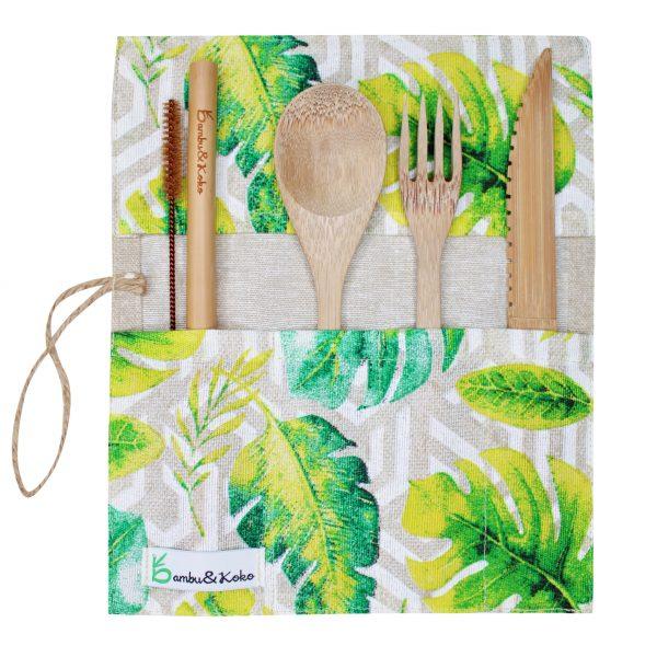 bambusový príbor - tropické osvieženie