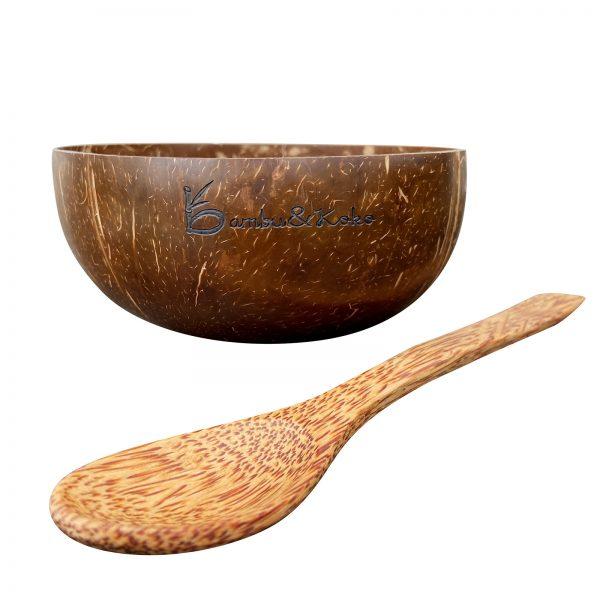 Kokosové duo - miska a lyžica