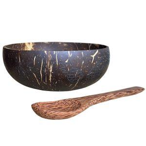 ananásové duo - kokosová miska a lyžica